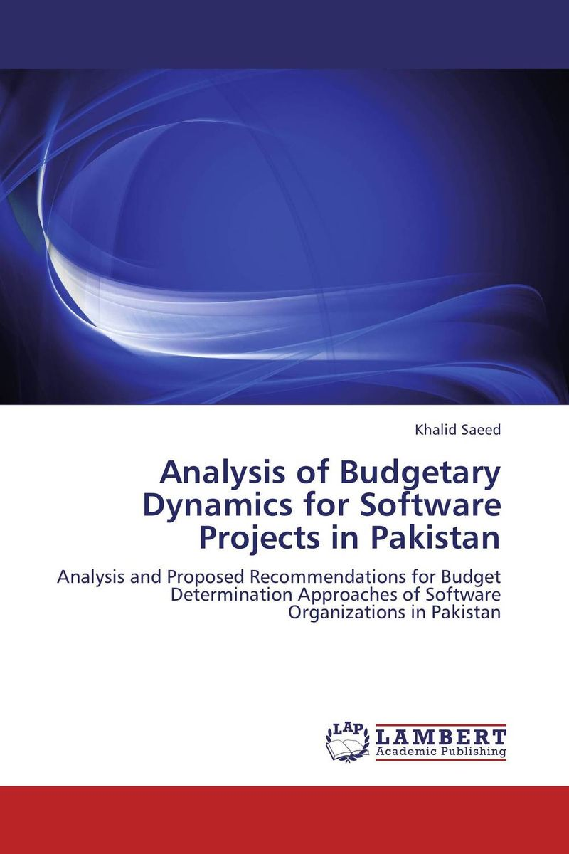 Analysis of Budgetary Dynamics for Software Projects in Pakistan lighthouse project lighthouse project we are the wildflowers