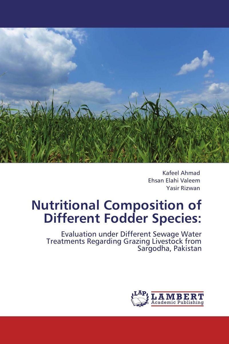Nutritional Composition of Different Fodder Species: brijesh yadav and rakesh kumar soil zinc fractions and nutritional composition of seeded rice