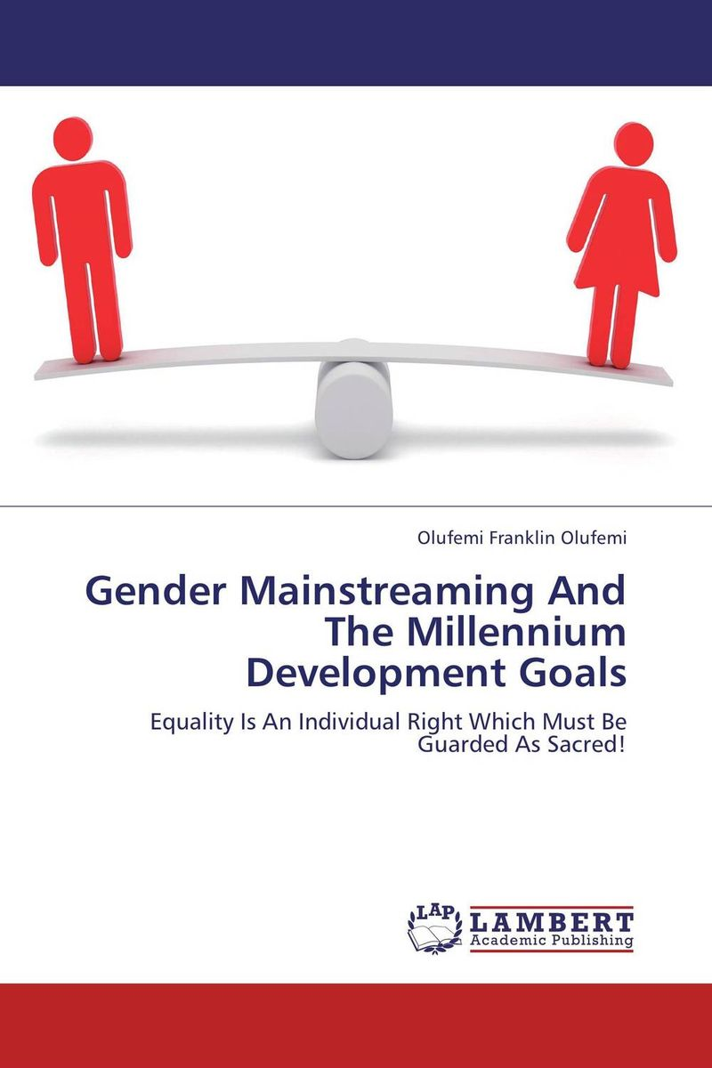 Gender Mainstreaming And The Millennium Development Goals ecosystems nexus millennium development goals