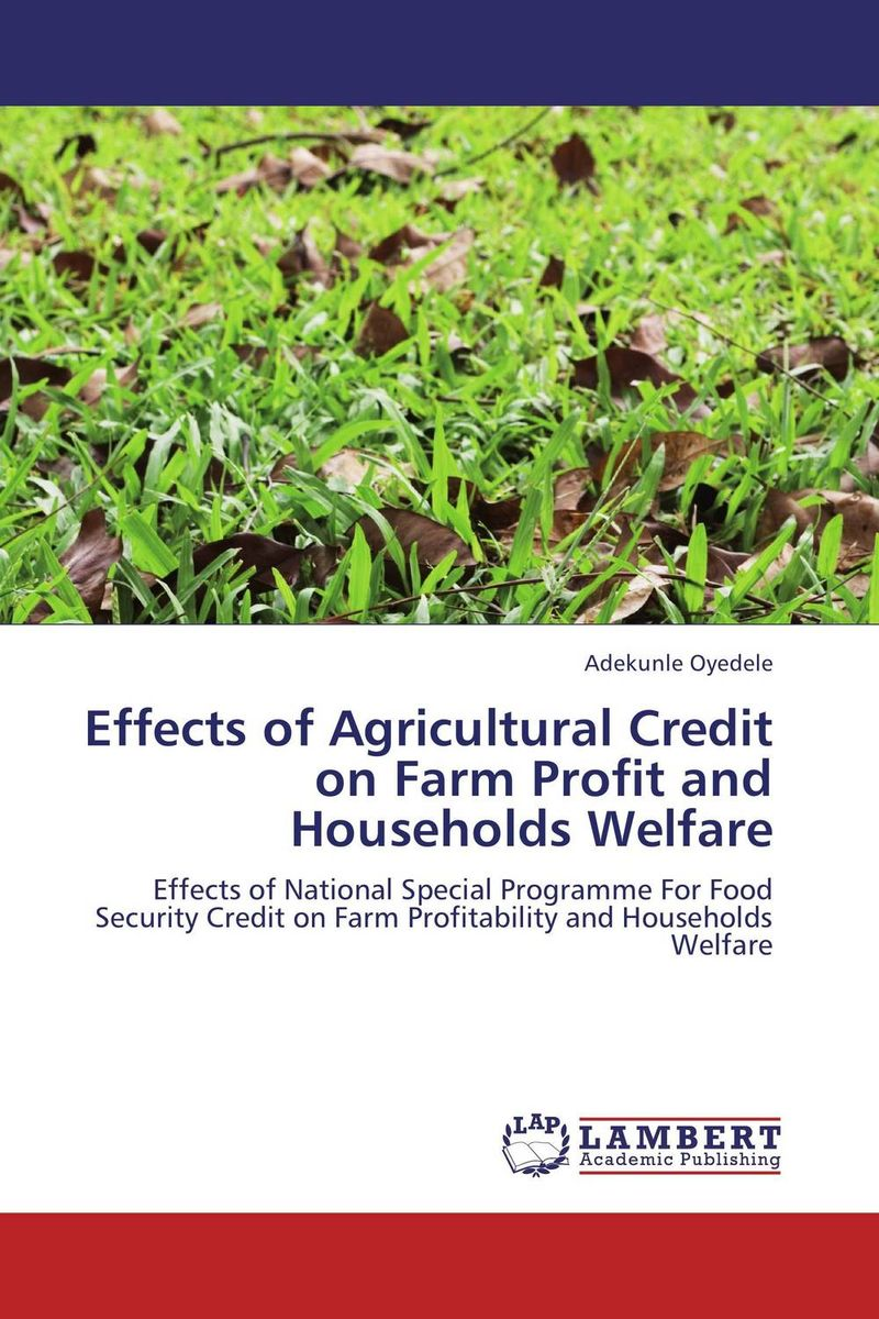 Effects of Agricultural Credit on Farm Profit and Households Welfare handbook of agricultural economics volume 3 agricultural development farmers farm production and farm markets handbook of agricultural economics handbook of agricultural eco