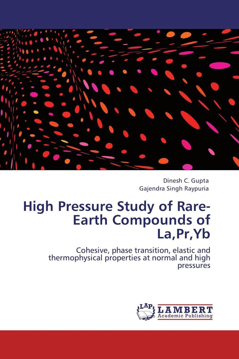 High Pressure Study of Rare-Earth Compounds of La,Pr,Yb verne j journey to the centre of the earth