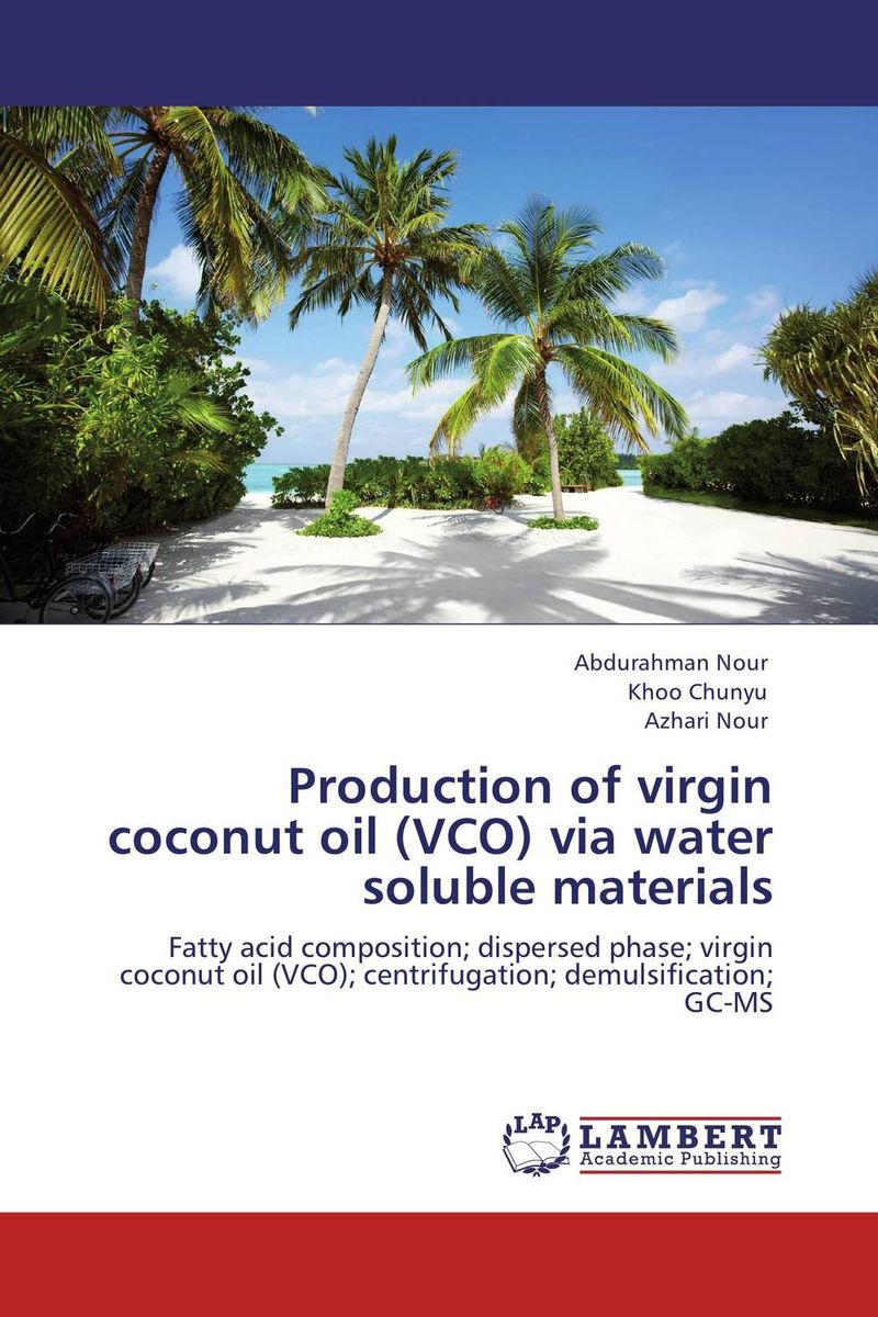 Production of virgin coconut oil (VCO) via water soluble materials oil separator integrates well the different techniques of oil separation in the design of its products