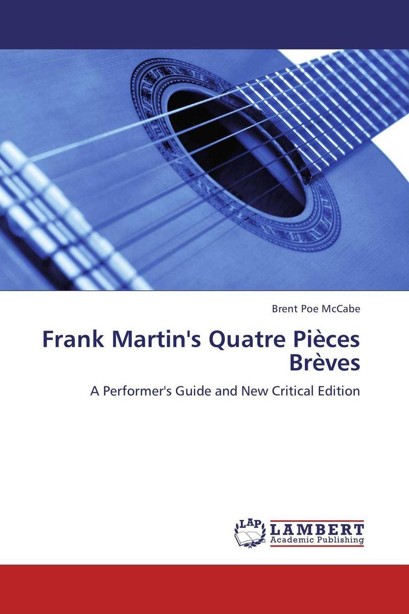Frank Martin's Quatre Pieces Breves