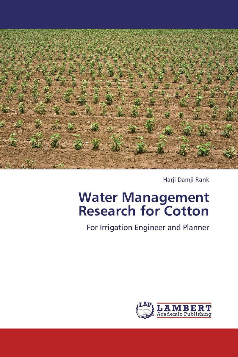 Water Management Research for Cotton bride of the water god v 3