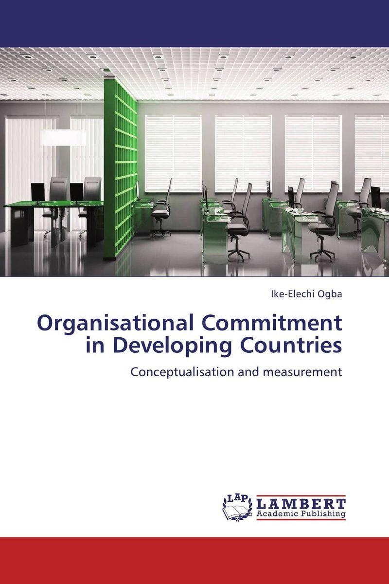 Organisational Commitment in Developing Countries sheena johnson organisational behaviour for dummies