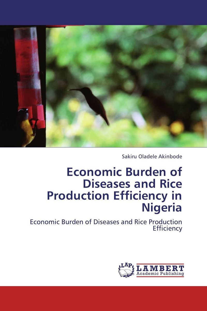 Economic Burden of Diseases and Rice Production Efficiency in Nigeria land tenure and efficiency in boro rice production in bangladesh