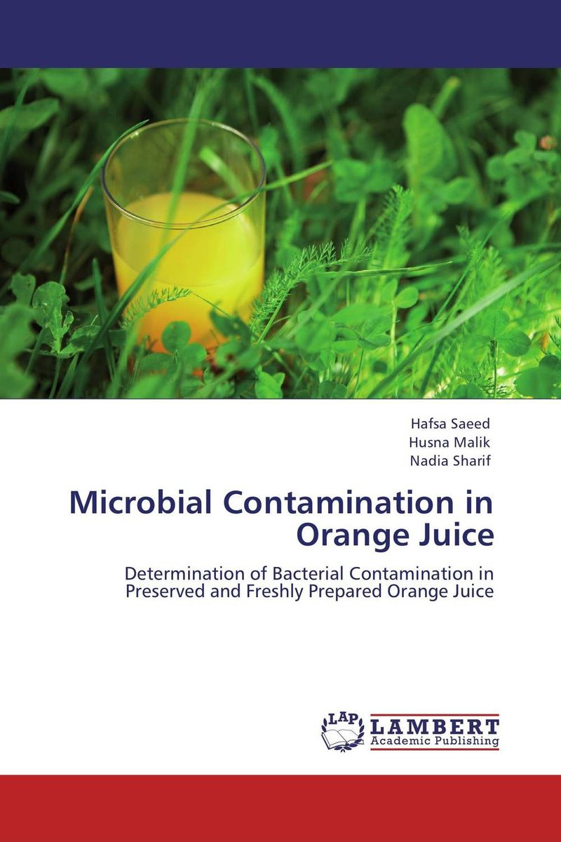 Microbial Contamination in Orange Juice microbial production of amylase in bacillus cereus sp