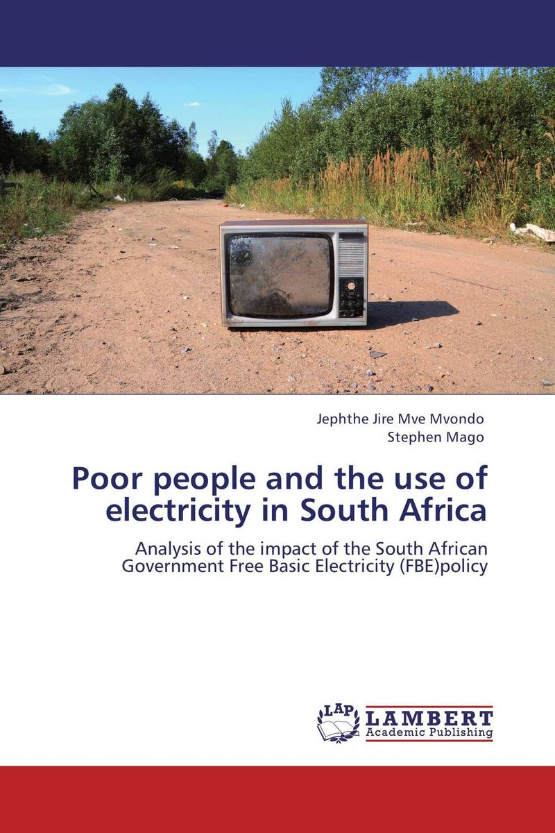 Poor people and the use of electricity in South Africa