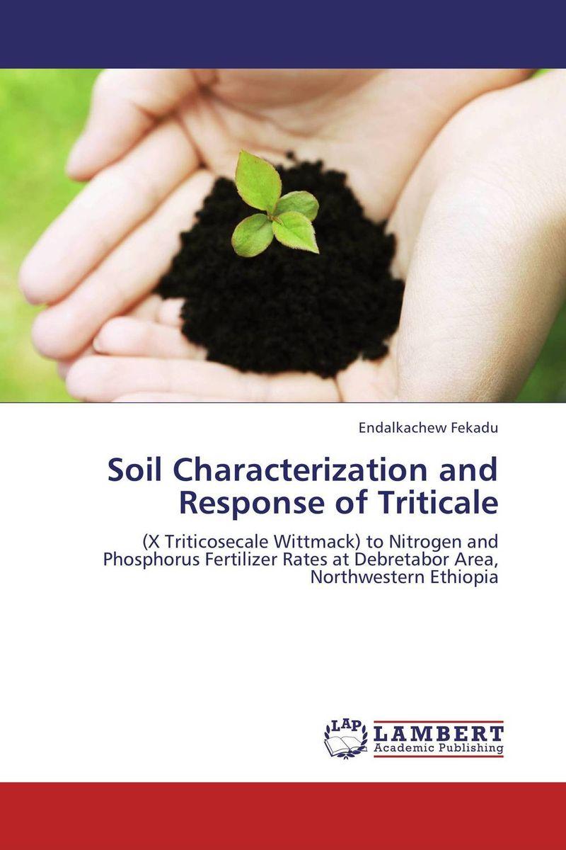 Soil Characterization and Response of Triticale purnima sareen sundeep kumar and rakesh singh molecular and pathological characterization of slow rusting in wheat