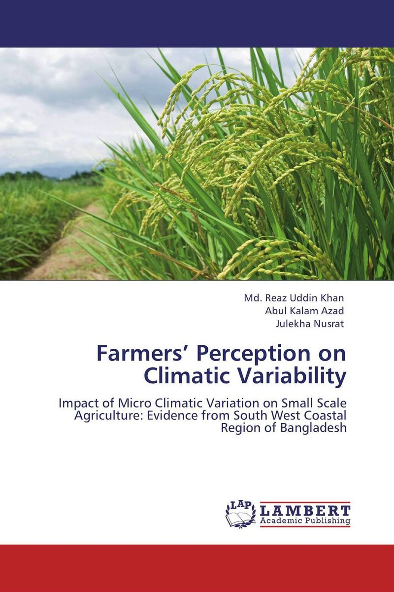 Farmers' Perception on Climatic Variability v n chavda m n popat and p j rathod farmers' perception about usefulness of agriculture extension system