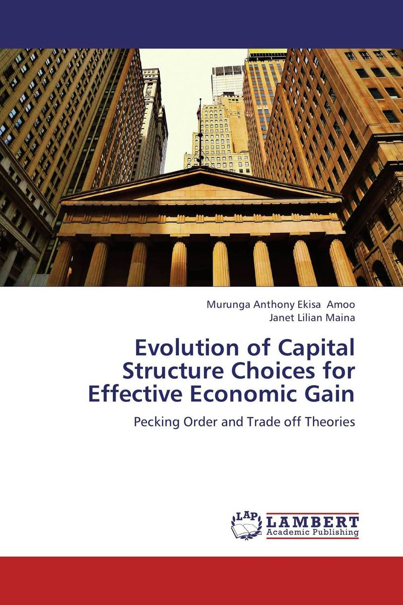 Evolution of Capital Structure Choices for Effective Economic Gain