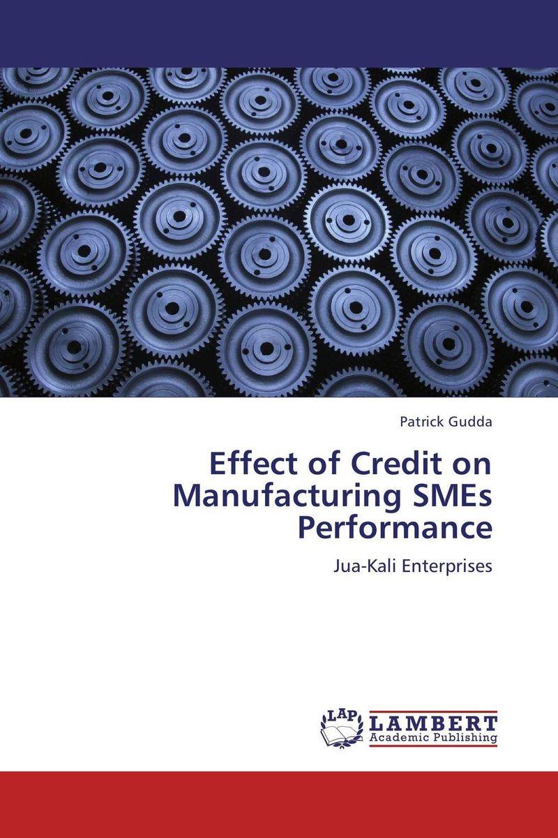 Effect of Credit on Manufacturing SMEs Performance arash najmaei and zahra sadeghinejad strategic flexibility of smes