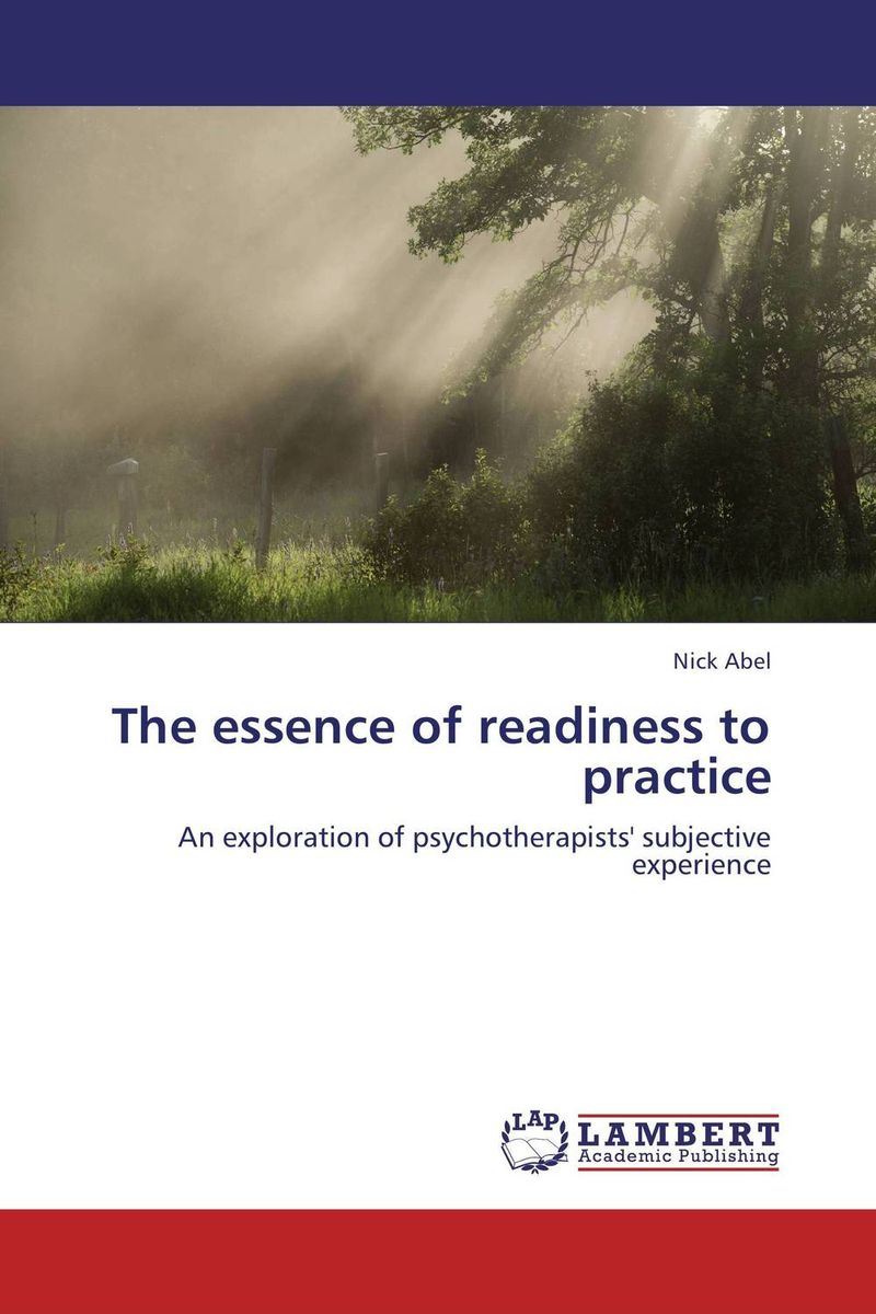The essence of readiness to practice sense and sensibility
