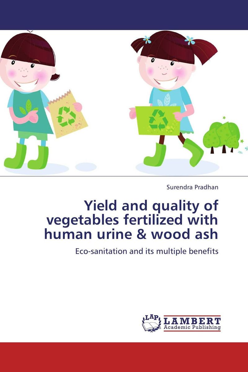 Yield and quality of vegetables fertilized with human urine & wood ash