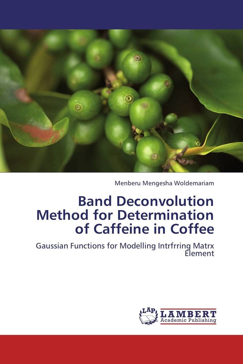 Band Deconvolution Method for Determination of Caffeine in Coffee программа gaussian купить