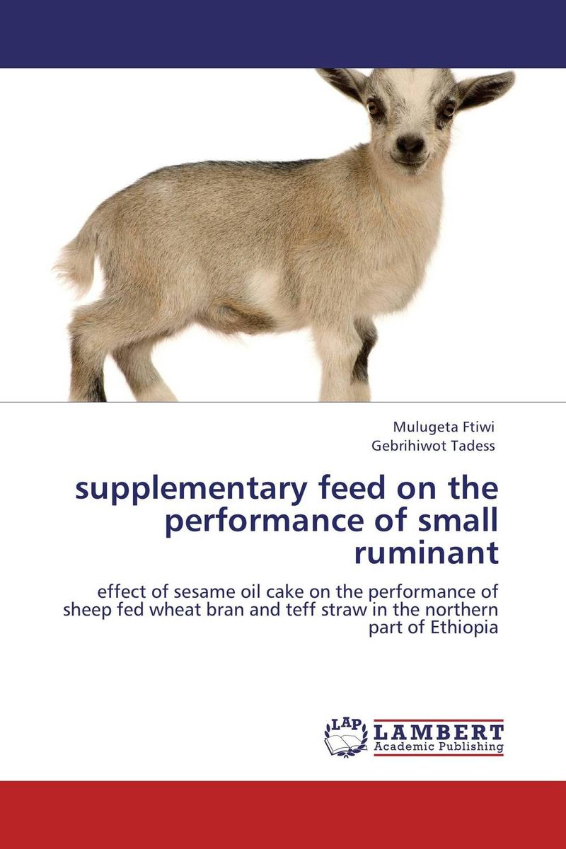 supplementary feed on the performance of small ruminant