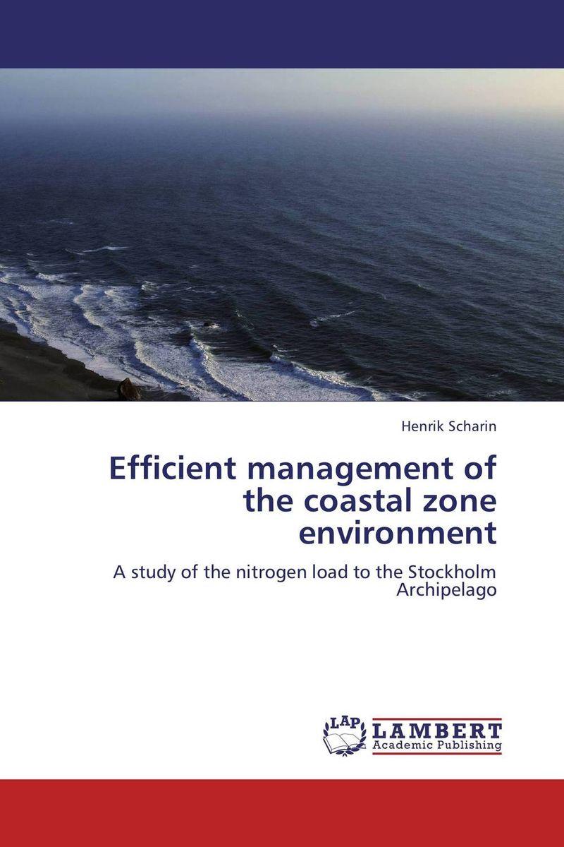Efficient management of the coastal zone environment efficient importance sampling in applied econometrics