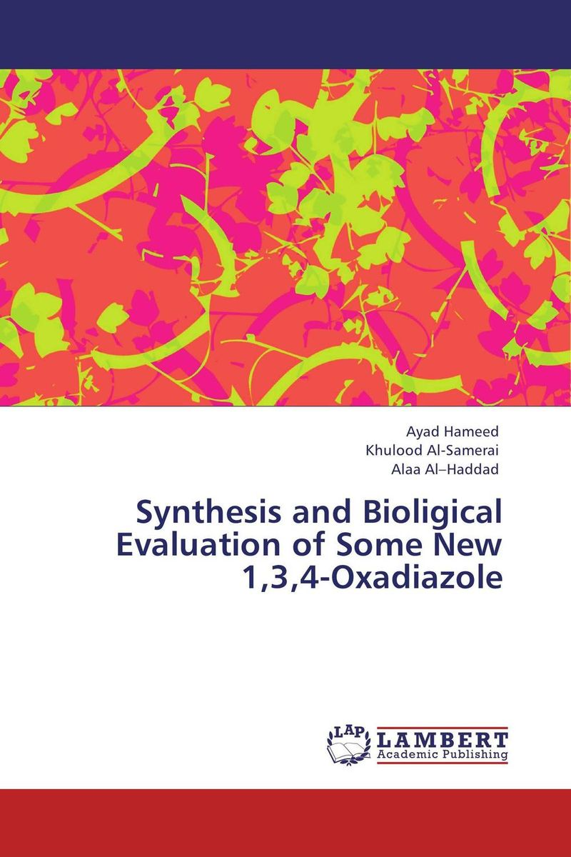 Synthesis and Bioligical Evaluation of Some New 1,3,4-Oxadiazole manish solanki synthesis and antimicrobial actvity of 1 4 dihydropyridines