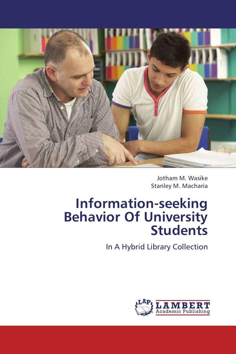 Information-seeking Behavior Of University Students