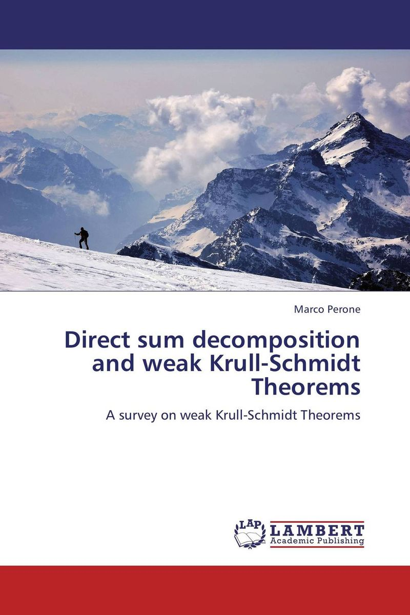 Direct sum decomposition and weak Krull-Schmidt Theorems categories