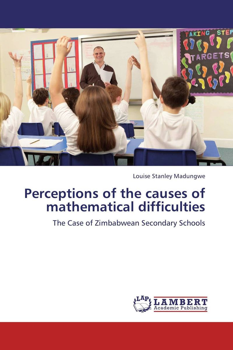 Perceptions of the causes of mathematical difficulties learning resources набор пробей