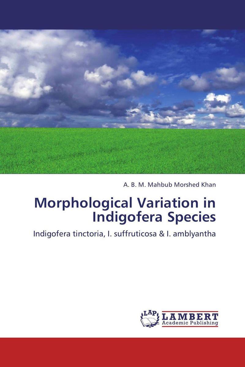 Morphological Variation in Indigofera Species