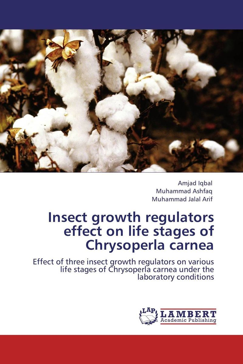 Zakazat.ru: Insect growth regulators effect on life stages of Chrysoperla carnea