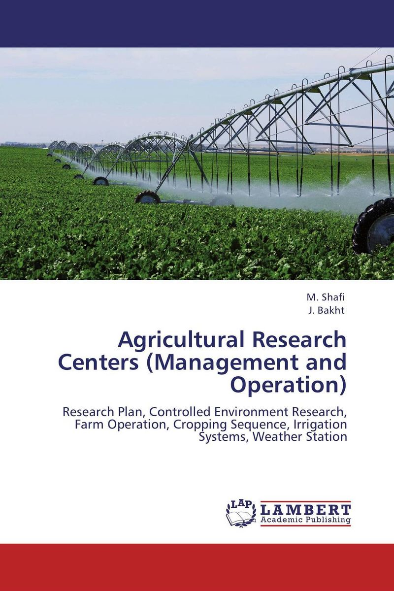 Agricultural Research Centers (Management and Operation) model enrichment in operation research