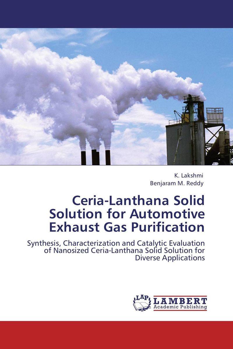 Ceria-Lanthana Solid Solution for Automotive Exhaust Gas Purification pranjal saikia and benjaram m reddy ceria based nano catalysts