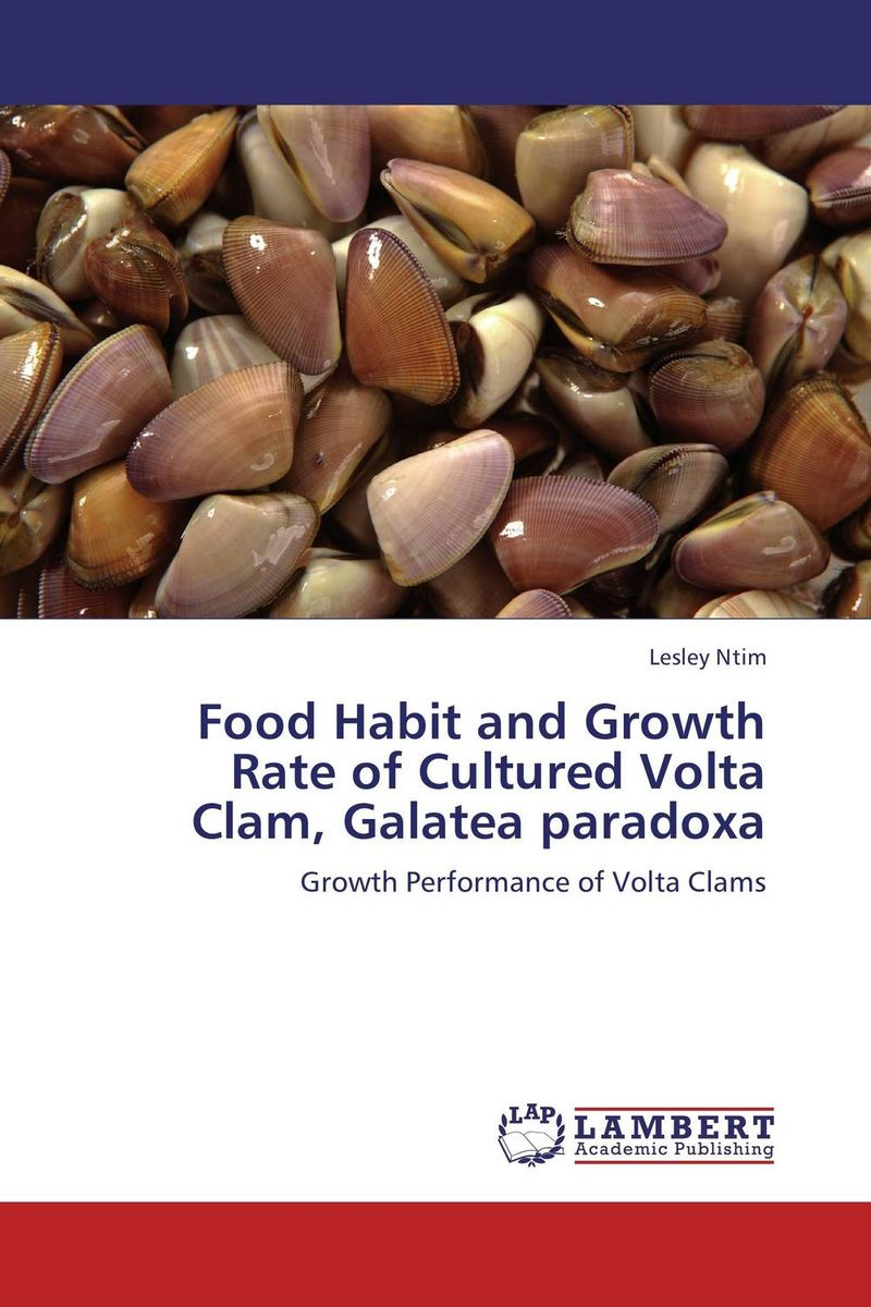 Food Habit and Growth Rate of Cultured Volta Clam, Galatea paradoxa the mars volta the mars volta amputechture