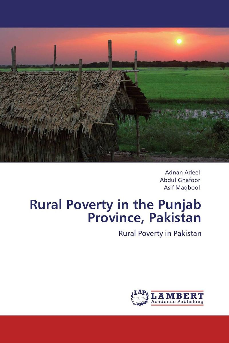 Rural Poverty in the Punjab Province, Pakistan role of ict in rural poverty alleviation