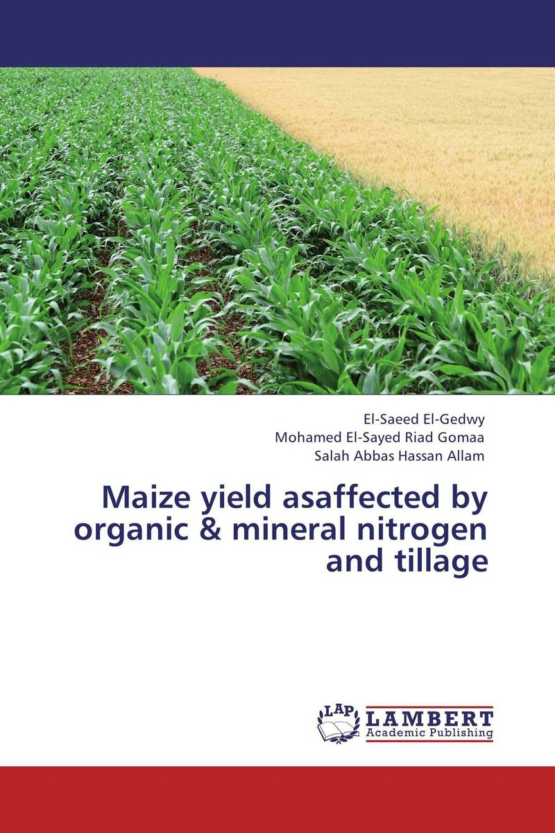 Maize yield asaffected by organic & mineral nitrogen and tillage subodh kumar and rakesh kumar response of organic nutrition and nitrogen on mustard brassica juncea