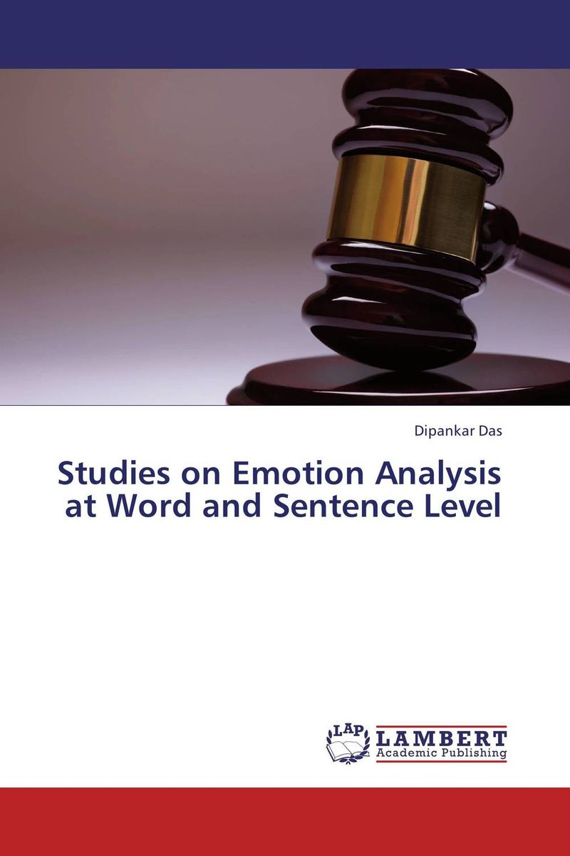 Studies on Emotion Analysis at Word and Sentence Level mick johnson motivation is at