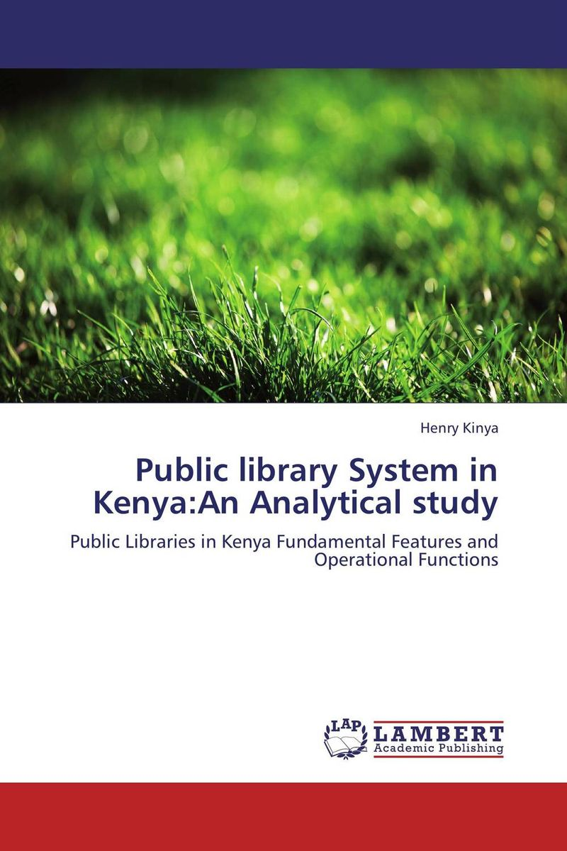 Public library System in Kenya:An Analytical study supra is 2602c