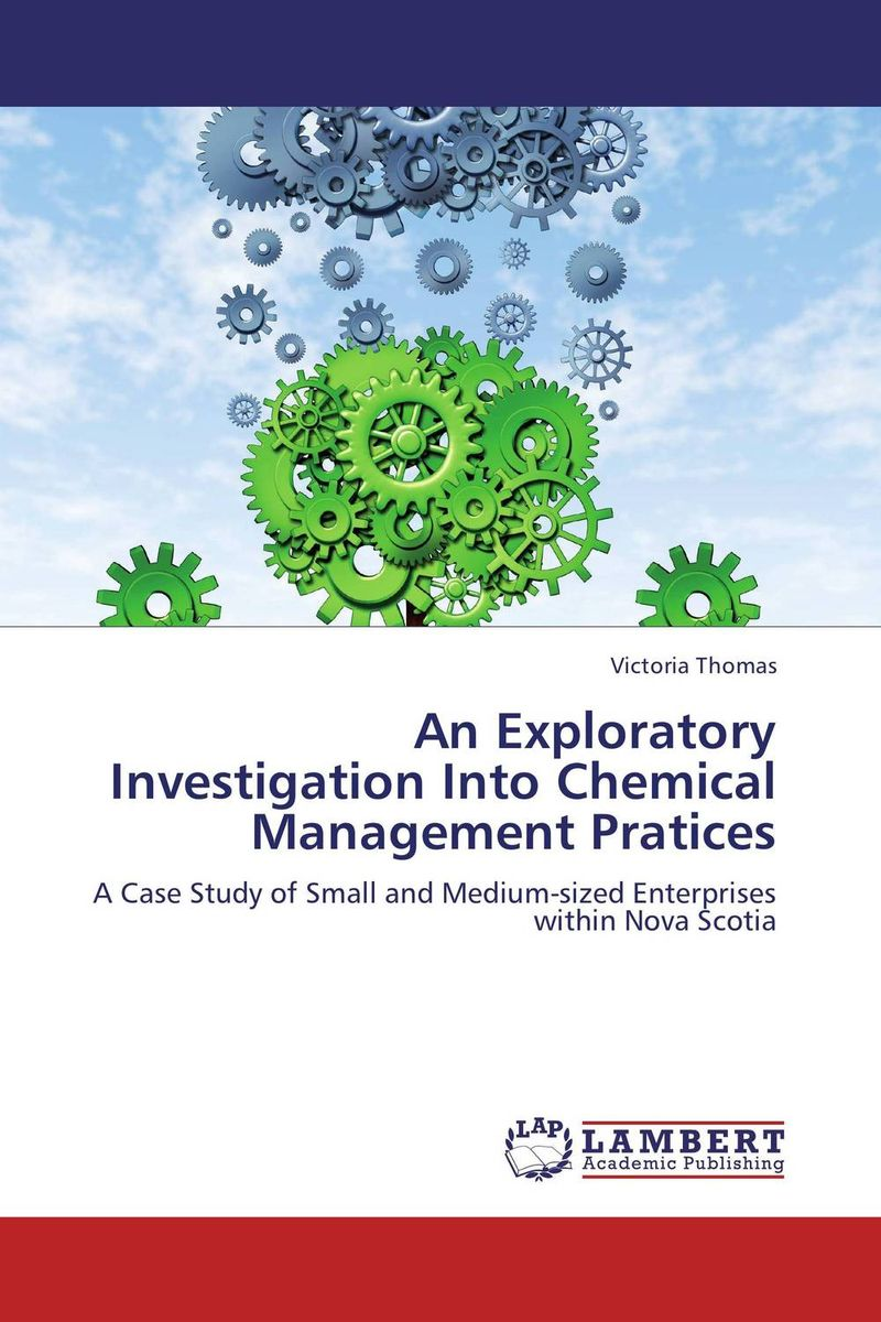 An Exploratory Investigation Into Chemical Management Pratices an introduction to environmental pollution