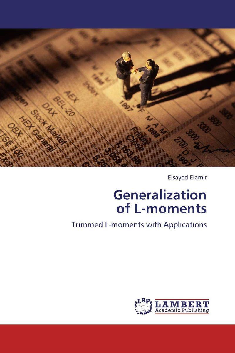 Generalization  of L-moments балетки der spur der spur de034awqoo80