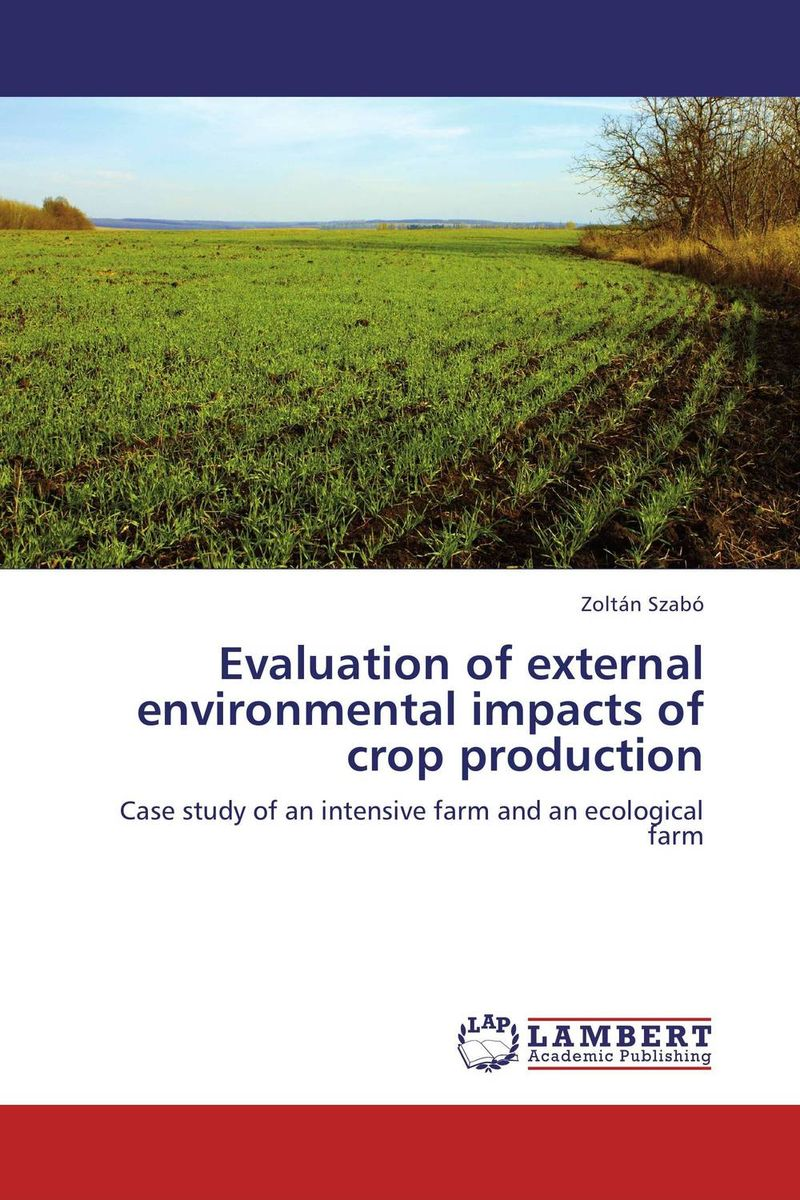 Evaluation of external environmental impacts of crop production evaluation of the impact of a mega sporting event