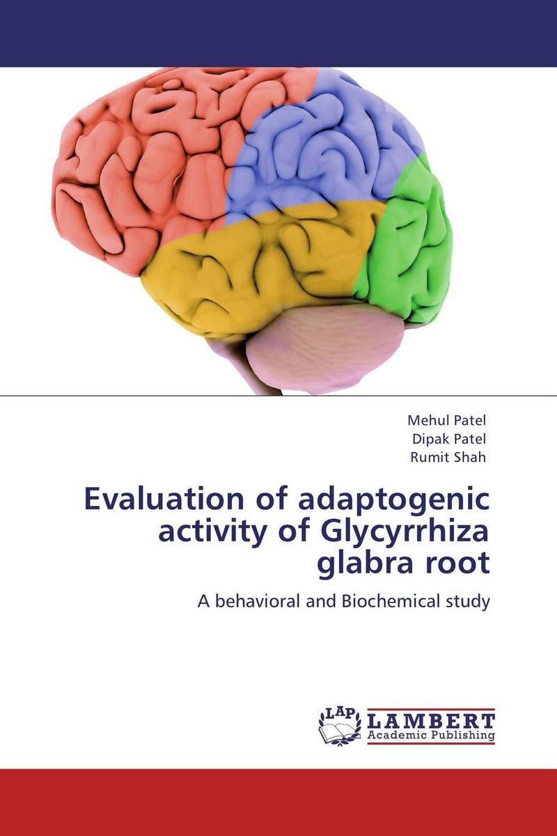 Evaluation of adaptogenic activity of Glycyrrhiza glabra root the teeth with root canal students to practice root canal preparation and filling actually