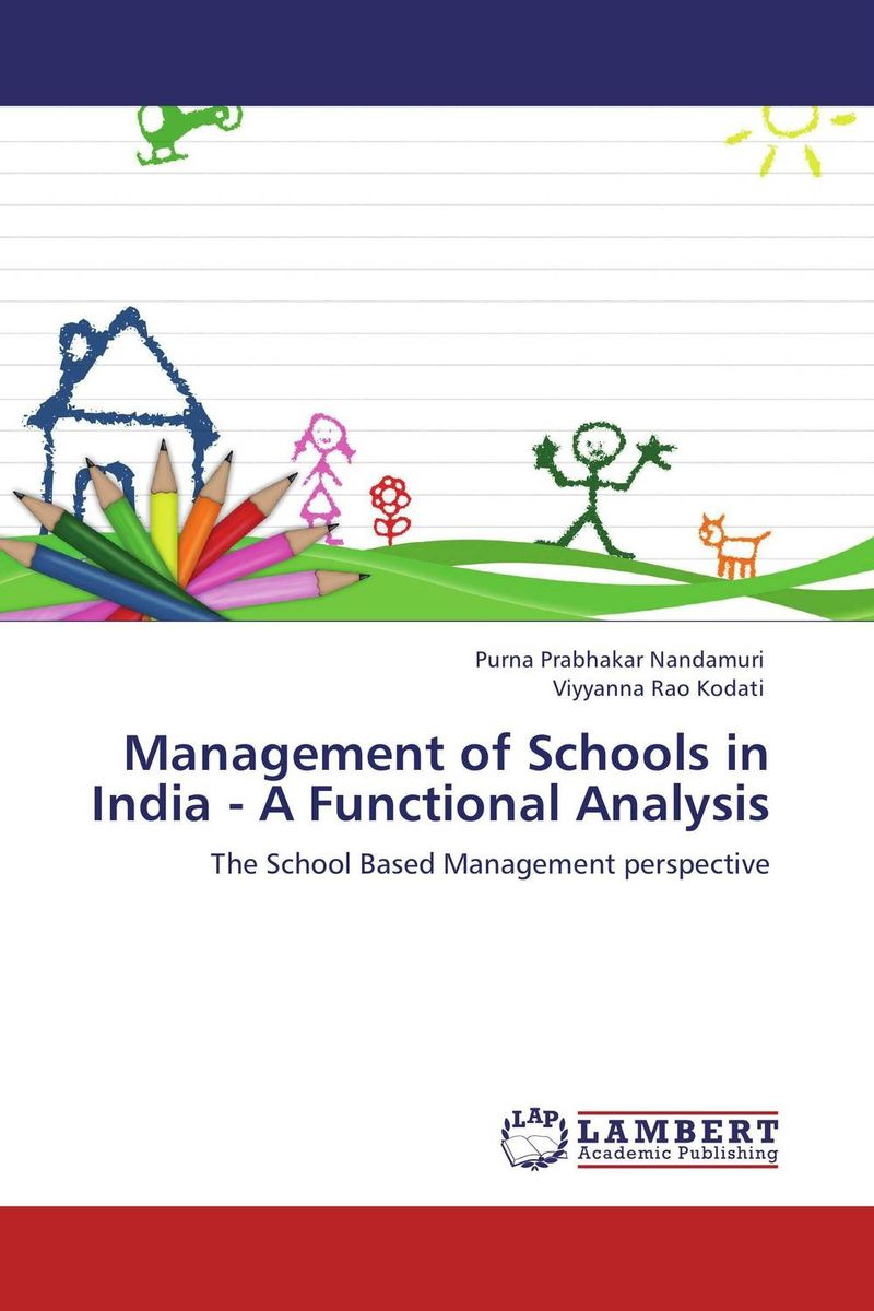 Management of Schools in India - A Functional Analysis dora aidoo management of special schools in ghana