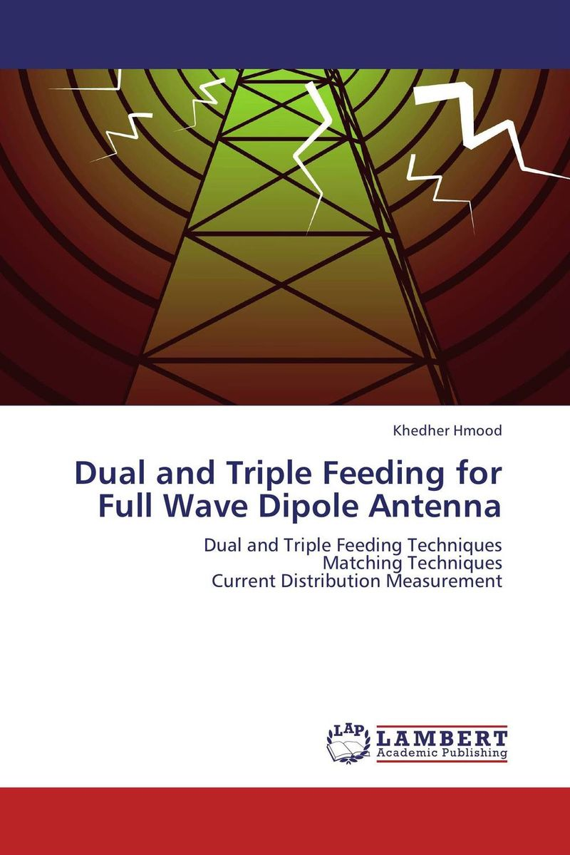 Dual and Triple Feeding for Full Wave Dipole Antenna boscam 5 8ghz cloud spirit antennas txa and rxa a pair in one set multicolored