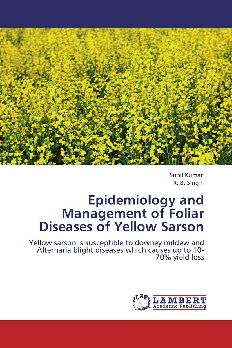 Epidemiology and Management of Foliar Diseases of Yellow Sarson effect of plant extracts on alternaria brassicae in mustard