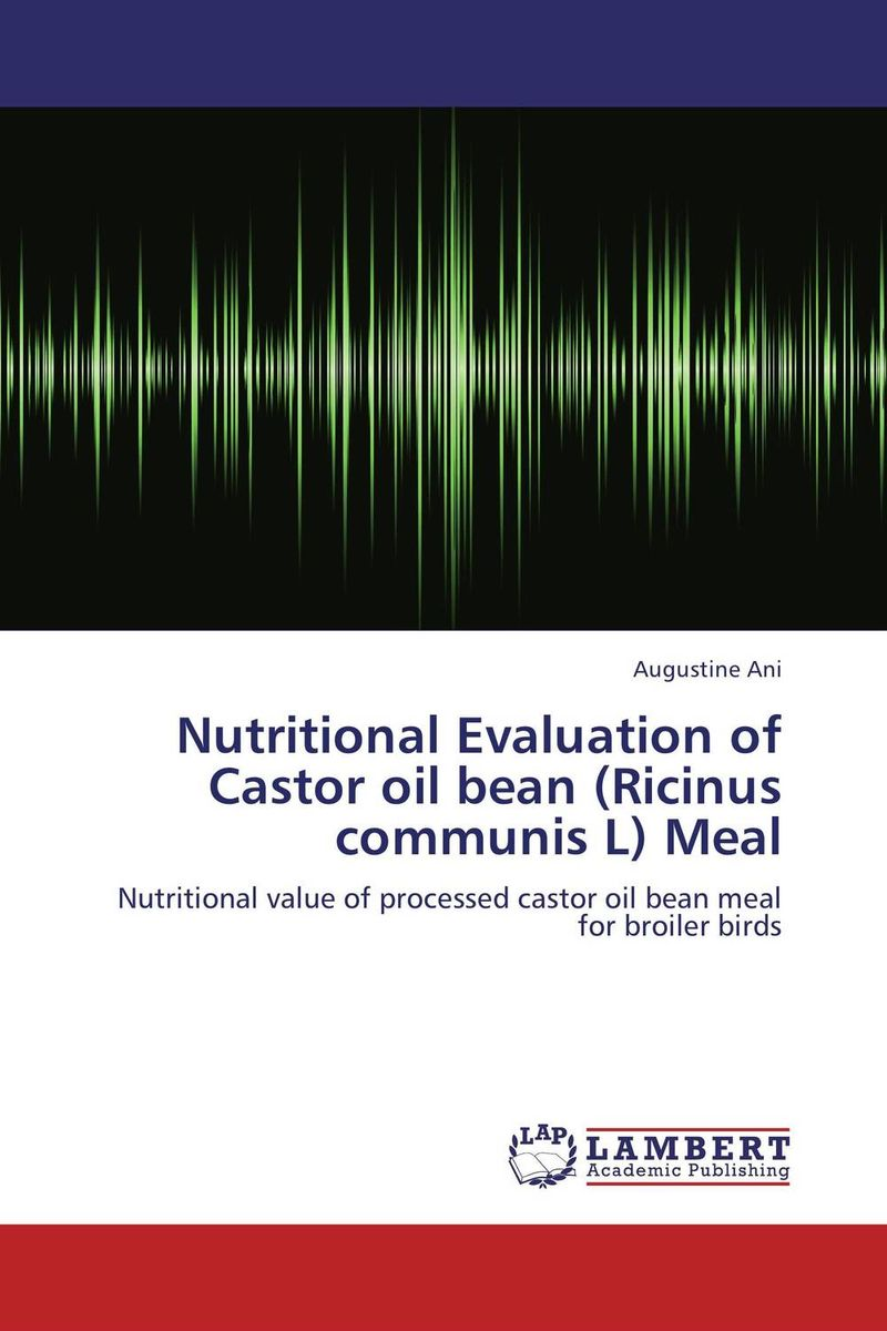 Nutritional Evaluation of Castor oil bean (Ricinus communis L) Meal evaluation of the internal control practices