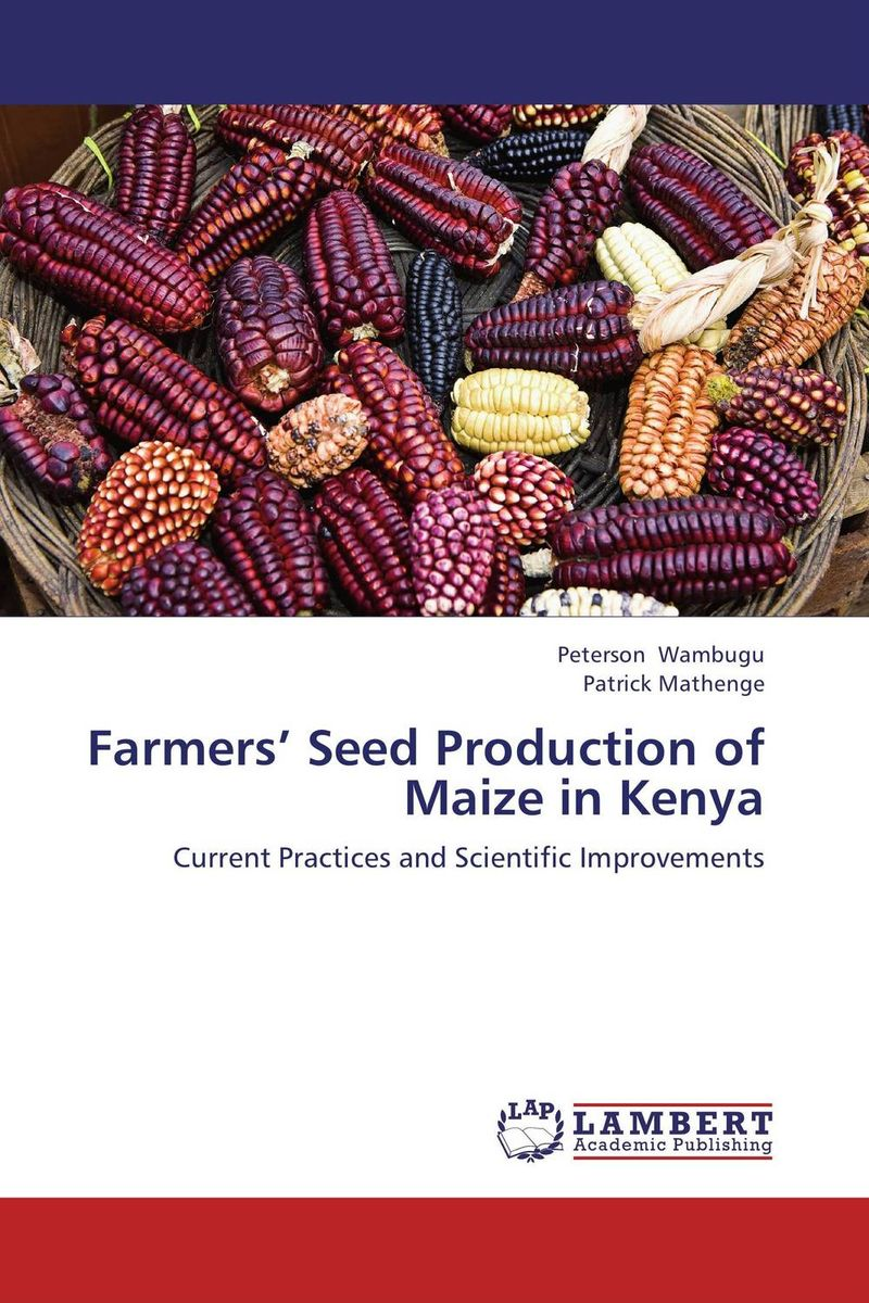 Farmers' Seed Production of Maize in Kenya adding value to the citrus pulp by enzyme biotechnology production