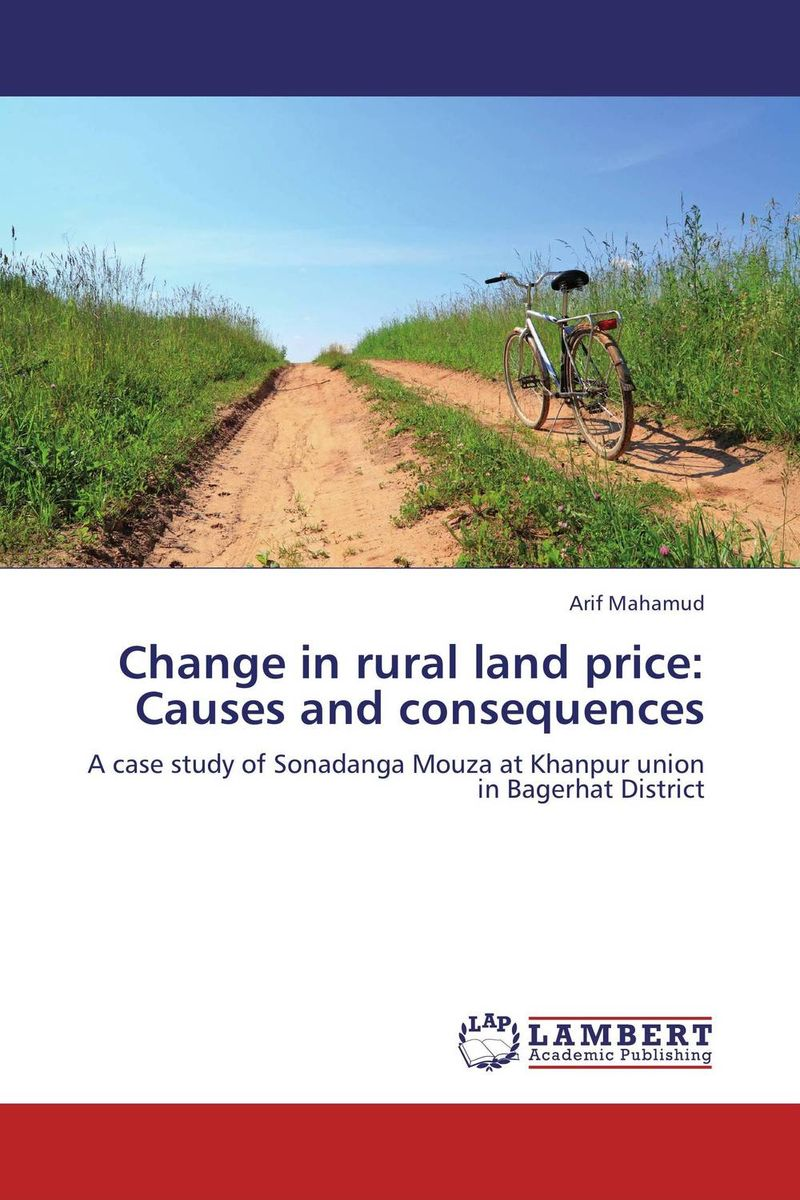 Change in rural land price: Causes and consequences soil and land resource evaluation for village level planning