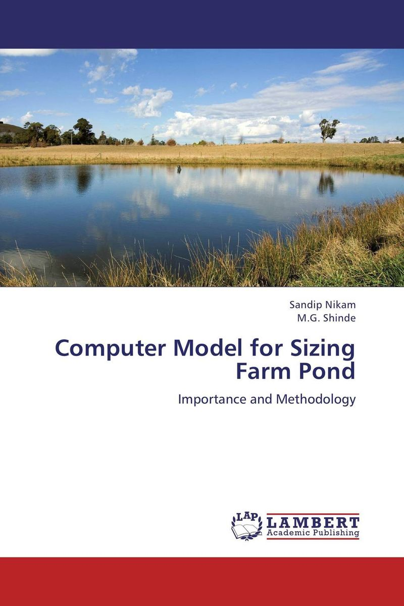 Computer Model for Sizing Farm Pond ponds pond s 175ml