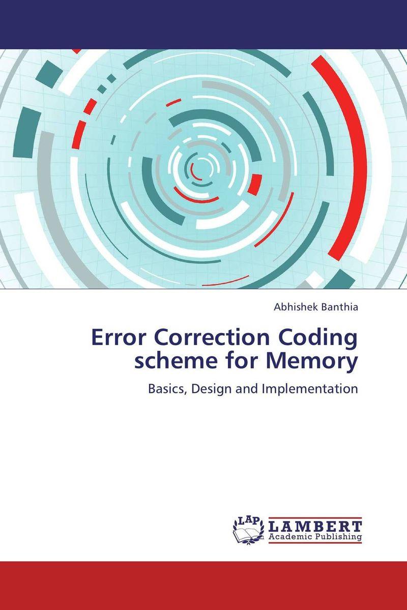 Error Correction Coding scheme for Memory