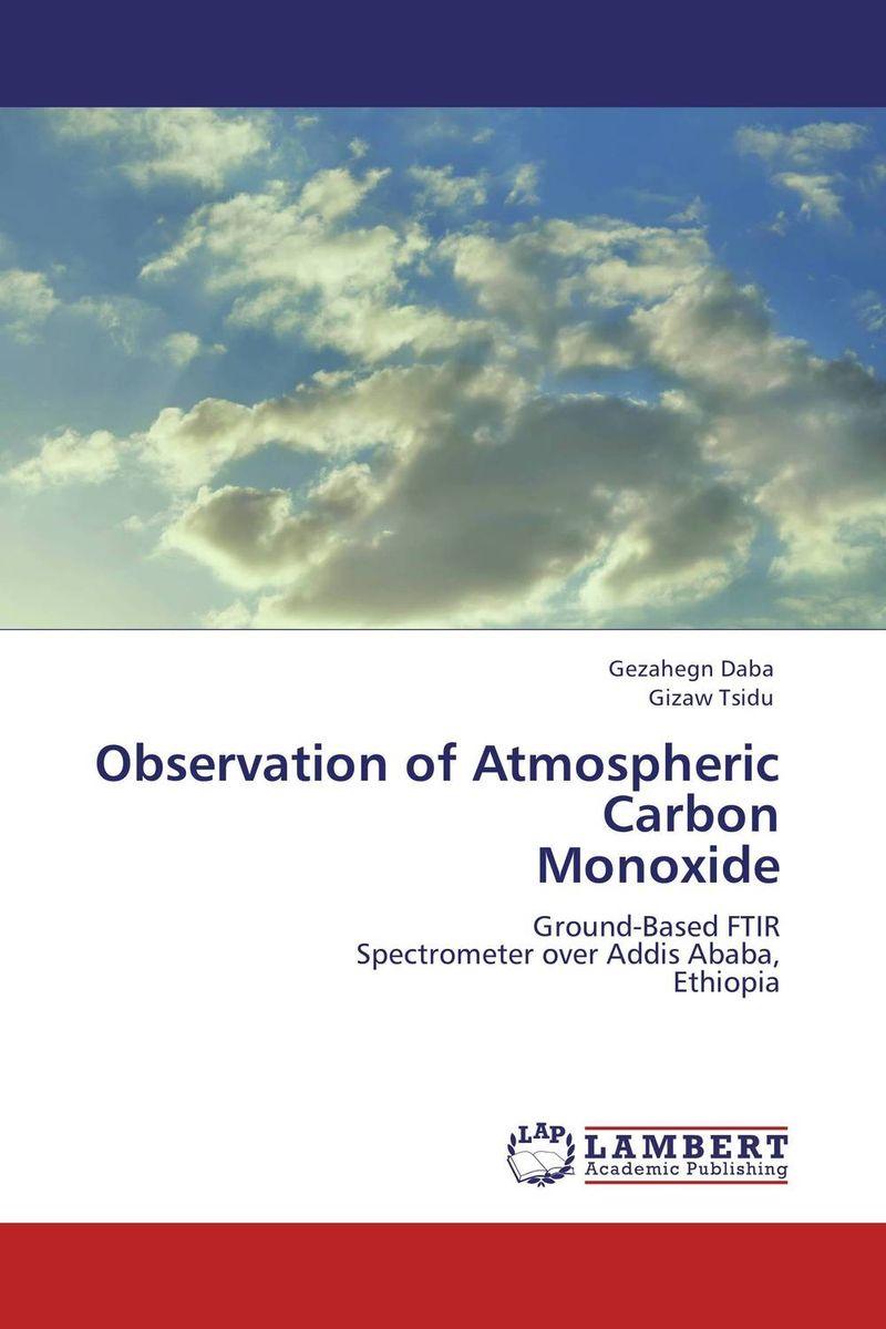 Observation of Atmospheric Carbon  Monoxide