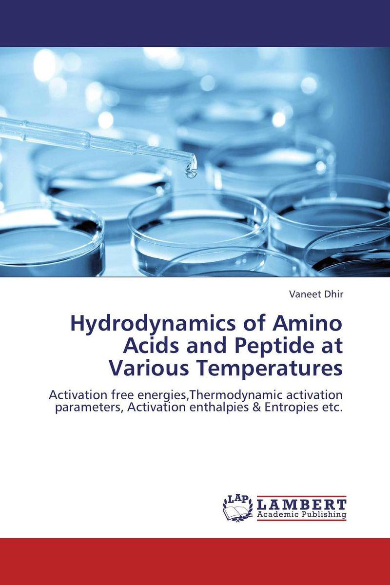Hydrodynamics of Amino Acids and Peptide at Various Temperatures marine hydrodynamics