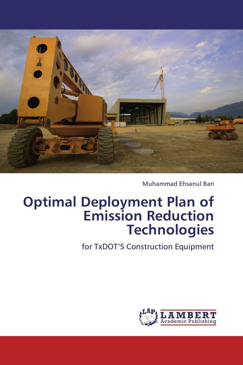 Optimal Deployment Plan of Emission Reduction Technologies steven bragg m cost reduction analysis tools and strategies