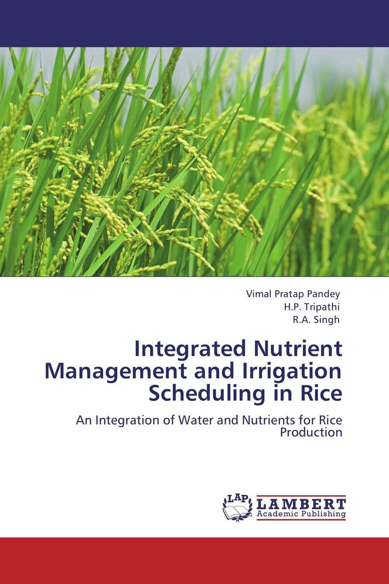 Integrated Nutrient Management and Irrigation Scheduling in Rice surendra kumar rai rajesh d pandya and sumit r salunkhe participatory irrigation management